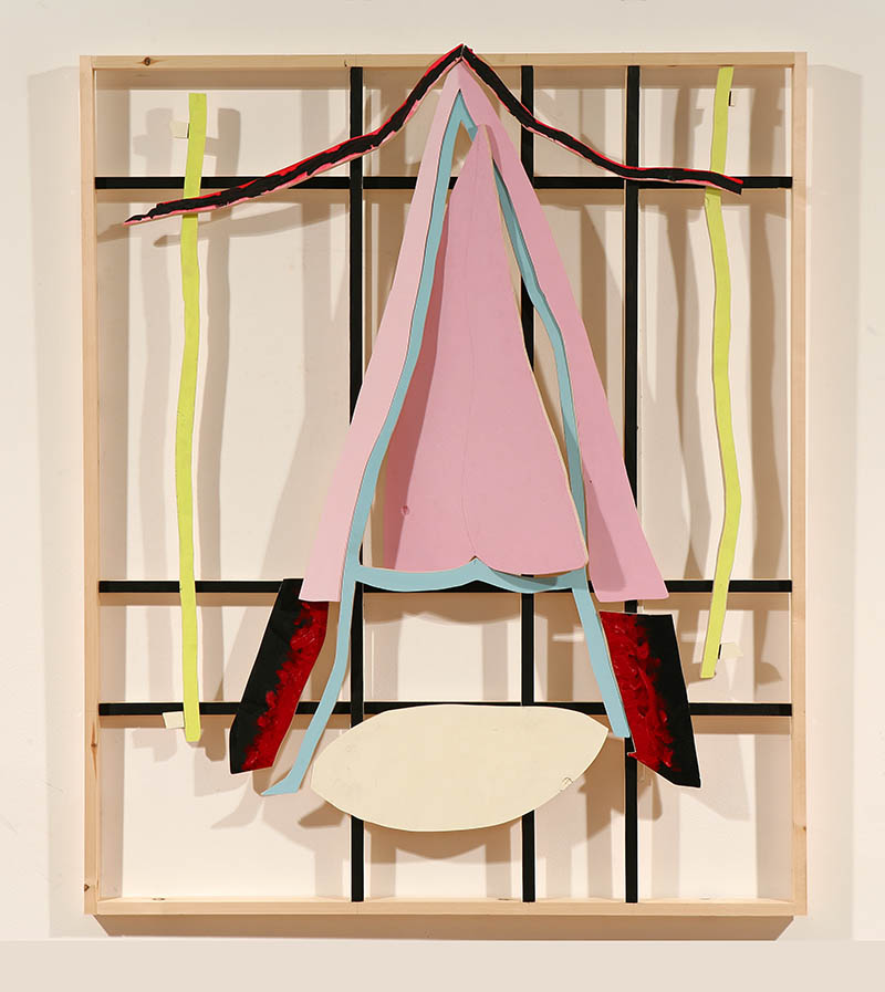 Jonathan Kelly - A-Tongue Deconstructed - Acrylic on Plywood and Pine - 130x145cm.jpg